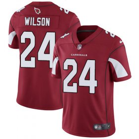 Wholesale Cheap Nike Cardinals #24 Adrian Wilson Red Team Color Men\'s Stitched NFL Vapor Untouchable Limited Jersey
