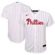 Wholesale Cheap Philadelphia Phillies Nike Youth Home 2020 MLB Team Jersey White