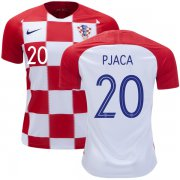 Wholesale Cheap Croatia #20 Pjaca Home Soccer Country Jersey