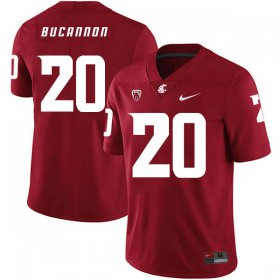 Wholesale Cheap Washington State Cougars 20 Deone Bucannon Red College Football Jersey