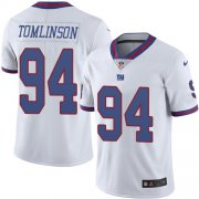 Wholesale Cheap Nike Giants #94 Dalvin Tomlinson White Youth Stitched NFL Limited Rush Jersey