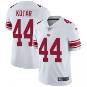 Wholesale Cheap Nike Giants #44 Doug Kotar White Youth Stitched NFL Vapor Untouchable Limited Jersey