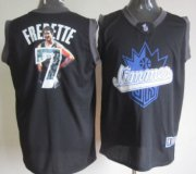 Wholesale Cheap Sacramento Kings #7 Jimmer Fredette Black Notorious Fashion Jersey