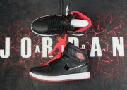 Wholesale Cheap Air Jordan 1 Retro Shoes Black/White-Red