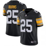 Wholesale Cheap Nike Steelers #25 Artie Burns Black Alternate Men's Stitched NFL Vapor Untouchable Limited Jersey