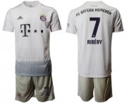 Wholesale Cheap Bayern Munchen #7 Ribery Away Soccer Club Jersey