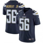 Wholesale Cheap Nike Chargers #56 Kenneth Murray Jr Navy Blue Team Color Men's Stitched NFL Vapor Untouchable Limited Jersey