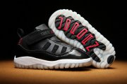 Wholesale Cheap Air Jordan 11 Kid & Baby shoes Black/Red