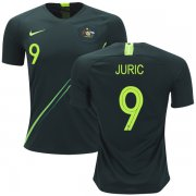 Wholesale Cheap Australia #9 Juric Away Soccer Country Jersey