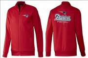 Wholesale Cheap NFL New England Patriots Victory Jacket Red
