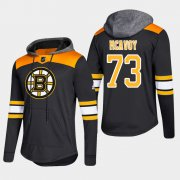 Wholesale Cheap Bruins #73 Charlie McAvoy Black 2018 Pullover Platinum Hoodie
