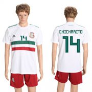 Wholesale Cheap Mexico #14 Chicharito Away Soccer Country Jersey