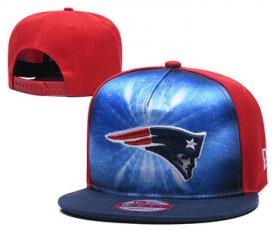 Wholesale Cheap Patriots Team Logo Red Navy Adjustable Leather Hat TX
