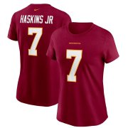 Wholesale Cheap Washington Redskins #7 Dwayne Haskins Football Team Nike Women's Player Name & Number T-Shirt Burgundy
