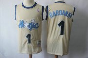 Wholesale Cheap Orlando Magic #1 Hardaway Blue Throwback Jersey