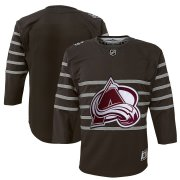 Wholesale Cheap Youth Colorado Avalanche Gray 2020 NHL All-Star Game Premier Jersey
