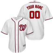 Wholesale Cheap Washington Nationals Majestic Cool Base Custom Jersey White