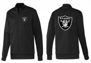 Wholesale Cheap NFL Las Vegas Raiders Team Logo Jacket Black_1