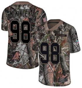 Wholesale Cheap Nike Falcons #98 Takkarist McKinley Camo Men\'s Stitched NFL Limited Rush Realtree Jersey