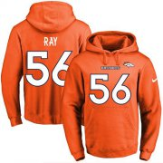 Wholesale Cheap Nike Broncos #56 Shane Ray Orange Name & Number Pullover NFL Hoodie
