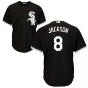 Wholesale Cheap White Sox #8 Bo Jackson Black Alternate Cool Base Stitched Youth MLB Jersey