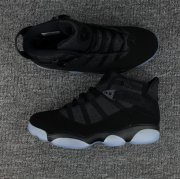 Wholesale Cheap Air Jordan 6 Rings Shoes Black