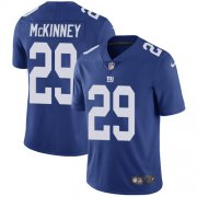 Wholesale Cheap Nike Giants #29 Xavier McKinney Royal Blue Team Color Youth Stitched NFL Vapor Untouchable Limited Jersey