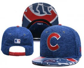 Wholesale Cheap MLB Chicago Cubs Snapback Ajustable Cap Hat YD