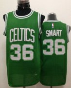 Wholesale Cheap Boston Celtics #36 Marcus Smart Green Swingman Jersey