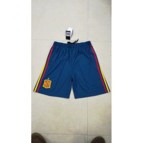 Wholesale Cheap Spain Blank Home Soccer Country Shorts