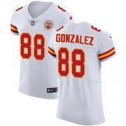 Wholesale Cheap Nike Chiefs #88 Tony Gonzalez White Men's Stitched NFL Vapor Untouchable Elite Jersey
