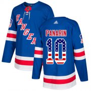 Wholesale Adidas Rangers #51 David Desharnais Royal Blue Home Authentic USA Flag Stitched NHL Jersey