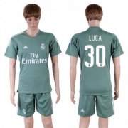 Wholesale Cheap Real Madrid #30 Luca Green Goalkeeper Soccer Club Jersey