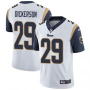 Wholesale Cheap Nike Rams #29 Eric Dickerson White Youth Stitched NFL Vapor Untouchable Limited Jersey
