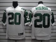Wholesale Cheap Jets #20 Kyle Wilson White Stitched NFL Jersey