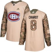 Wholesale Cheap Adidas Canadiens #8 Ben Chiarot Camo Authentic 2017 Veterans Day Stitched Youth NHL Jersey