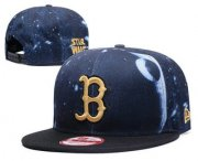 Wholesale Cheap Boston Red Sox Snapback Ajustable Cap Hat GS 4