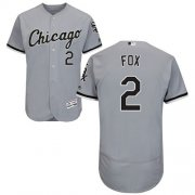 Wholesale Cheap White Sox #2 Nellie Fox Grey Flexbase Authentic Collection Stitched MLB Jersey