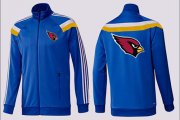 Wholesale Cheap NFL Arizona Cardinals Team Logo Jacket Blue_2