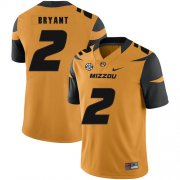Wholesale Cheap Missouri Tigers 2 Kelly Bryant Gold Nike College Football Jersey
