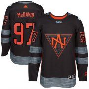Wholesale Cheap Team North America #97 Connor McDavid Black 2016 World Cup Stitched NHL Jersey