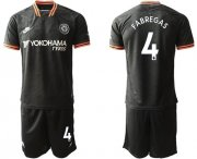 Wholesale Cheap Chelsea #4 Fabregas Third Soccer Club Jersey