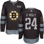 Wholesale Cheap Adidas Bruins #24 Terry O'Reilly Black 1917-2017 100th Anniversary Stitched NHL Jersey