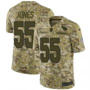 Wholesale Cheap Nike Cardinals #55 Chandler Jones Camo Men's Stitched NFL Limited 2018 Salute to Service Jersey