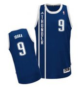 Wholesale Cheap Oklahoma City Thunder #9 Serge Ibaka 2013 Navy Blue Swingman Jersey