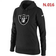 Wholesale Cheap Nike Raiders #77 Trent Brown Black Women's Stitched NFL Limited 2016 Salute to Service Jersey
