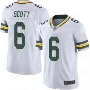 Wholesale Cheap Nike Packers #6 JK Scott White Men's Stitched NFL Vapor Untouchable Limited Jersey