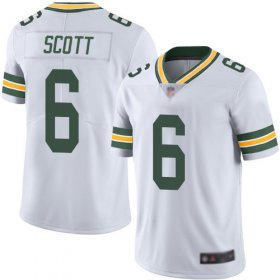Wholesale Cheap Nike Packers #6 JK Scott White Men\'s Stitched NFL Vapor Untouchable Limited Jersey