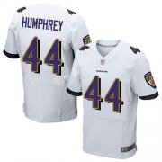 Wholesale Cheap Nike Ravens #44 Marlon Humphrey White Men's Stitched NFL New Elite Jersey