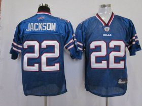 Wholesale Cheap Bills #22 Fred Jackson Baby Blue 2011 New Style Stitched NFL Jersey